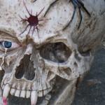 The giant skull is back