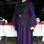 "Me in my witch costume... Almost a year later and that ""temporary"" hair dye still hasn't completely faded..."
