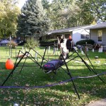 The giant spider is back again