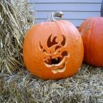 I did nintendo pumpkins this year.