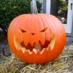 This one was carved to look like the ones in Tim Burton's Sleepy Hollow remake.