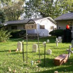 The graveyard, by day